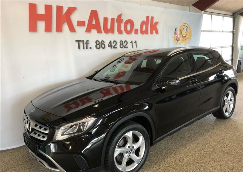 leasebil.nu privatleasing - Mercedes-Benz-GLA-sort-meta-km-66000
