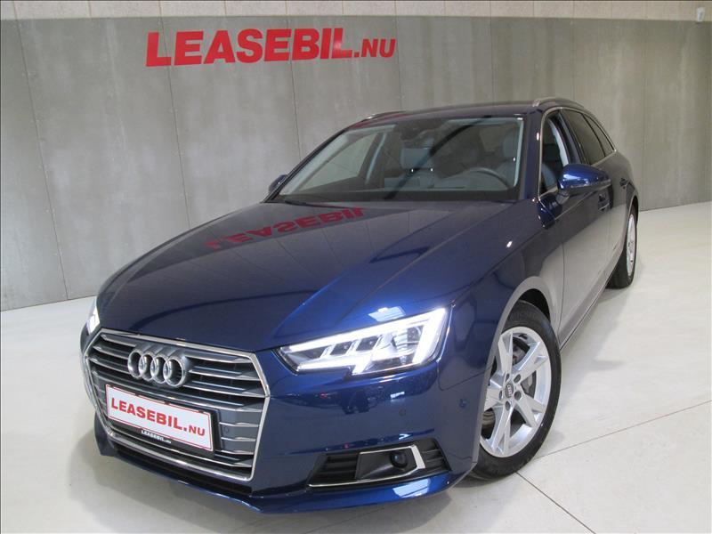 leasebil.nu firmabilen-Audi-A4-2.0-TDI-A-blå-metal-km-216649
