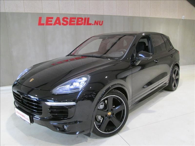 leasebil.nu firmabilen-Porsche-Cayenne-S-sort-meta-km-110000