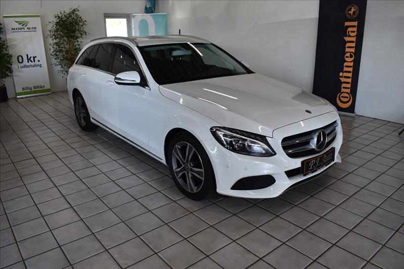 leasebil.nu privatleasing - Mercedes-C200-ST.-hvid-km-140000