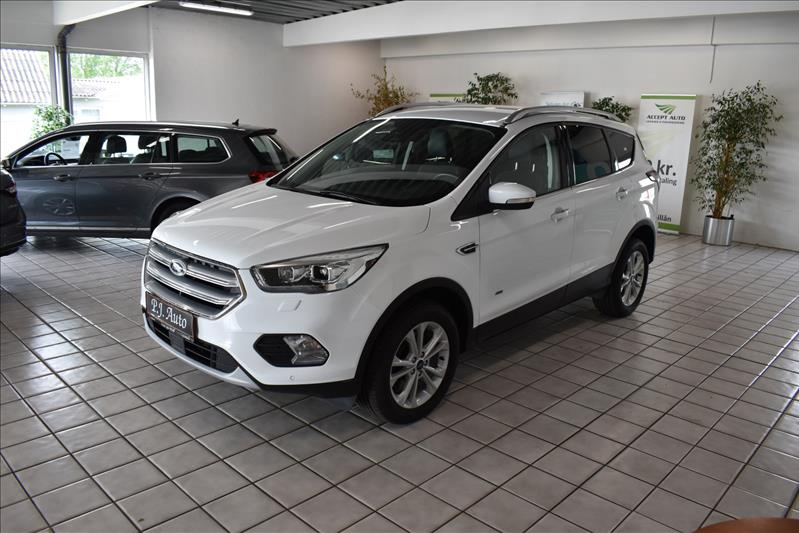 leasebil.nu privatleasing - Ford-Kuga-2,0-Tit-hvid-km-116000