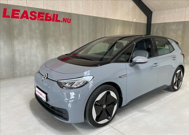 leasebil.nu firmabilen-VW-ID.3-Pro-S-Aut-grå-km-10