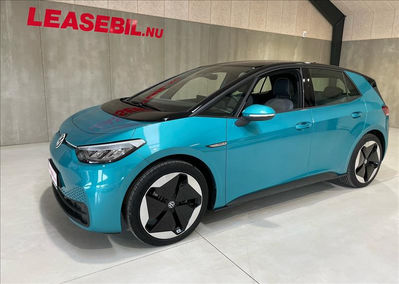 leasebil.nu privatleasing - VW-ID.3-Pro-S-Aut-turkis-km-10