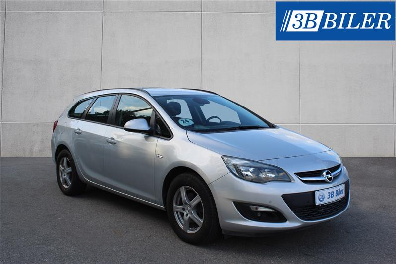 leasebil.nu firmabilen-Opel-Astra-1.6-CD-sølvmetal-km-60698